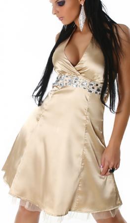 Petticoat Kleid gold