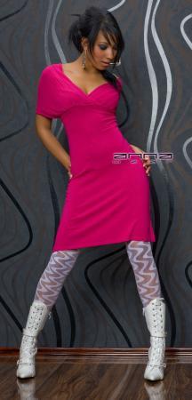 Strickkleid pink