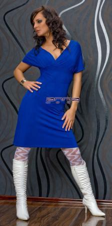 Strickkleid blau