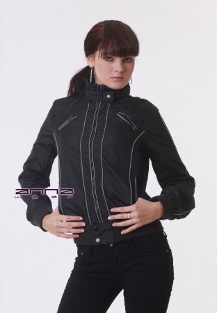 atmungsaktive Jacke in schwarz