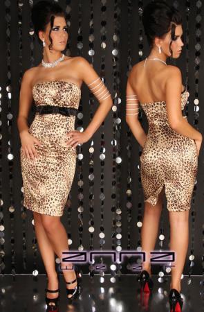 Elegantes Kleid in leo