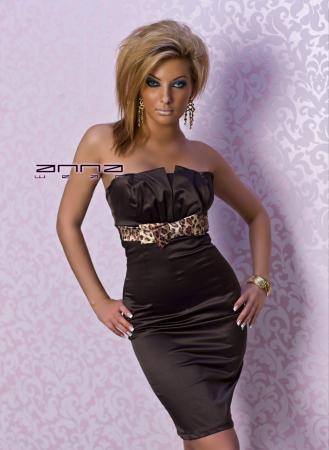 Elegantes Kleid in braun