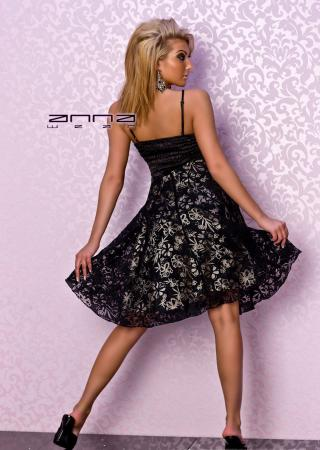 Cocktail Kleid in schwarz von Fashion Wave