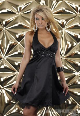 Petticoat Kleid von Fashion Wave schwarz