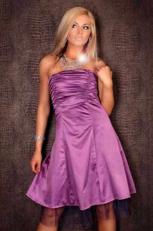Petticoat Kleid lila