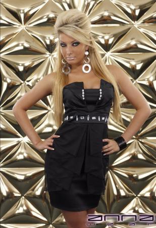 Festliches Minikleid schwarz