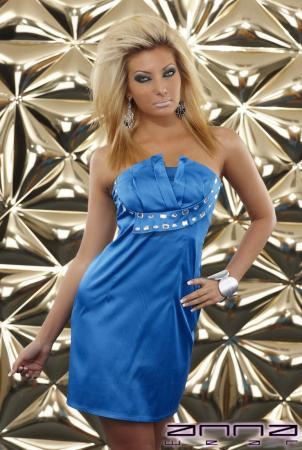 Elegantes Minikleid blau