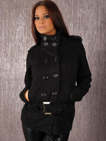 Outdoorjacke in schwarz