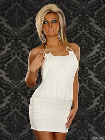 Minikleid in weiß