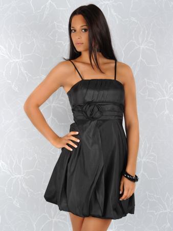 Elegantes Minikleid schwarz