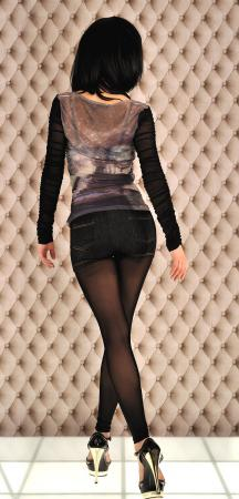 double look, Pants-Leggins schwarz