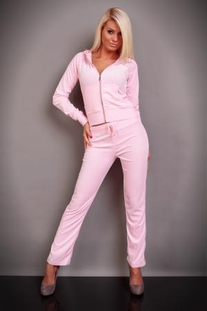 Nicki-Jogginganzug in rosa