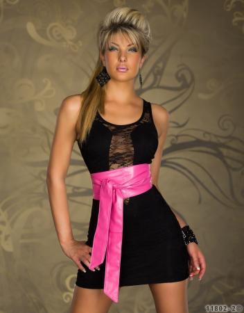 Taillen-Gürtel zum Binden pink
