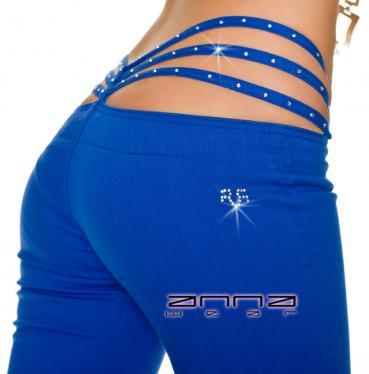 Stretch-Hose in blau