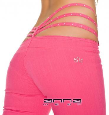 Stretch-Hose pink