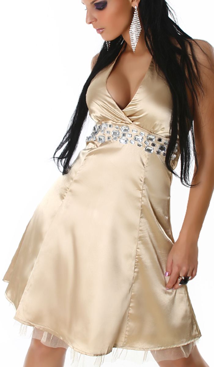 annawear - Petticoat Kleid gold