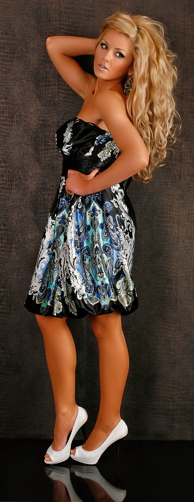 annawear - Trägerloses Kleid von Fashion Wave schwarz ...